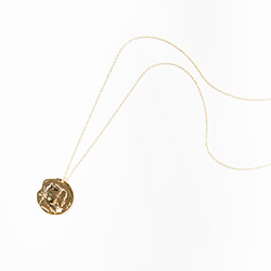 [SILVER925] Ella coin necklace