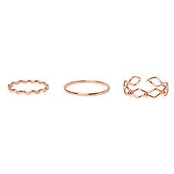 Three Wave Ring