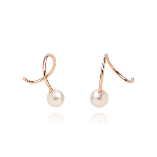 [SILVER925] Mini Wave Pearl