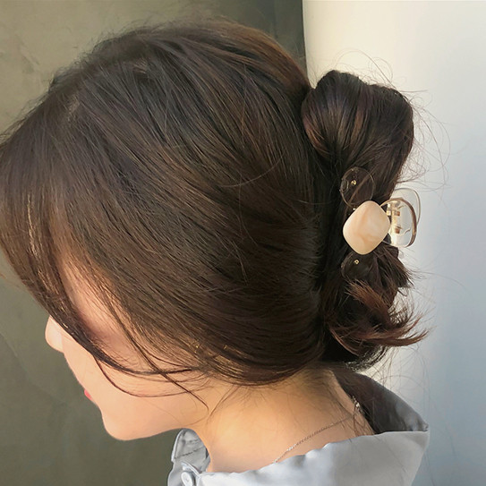 Marble Shell Hairpin
