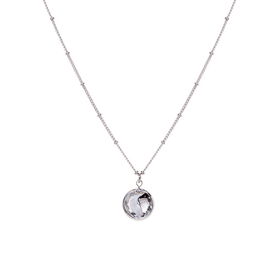 Clear Marble Necklace