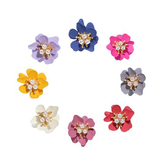 [SILVER925] Blooming flower